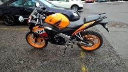 Max 125cc&km/h